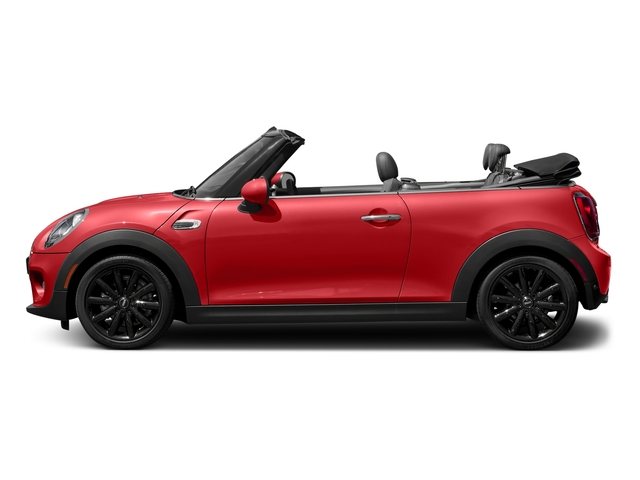 Chili Red 2018 MINI Convertible Pictures Convertible Cooper FWD photos side view