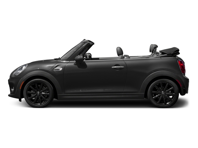 Midnight Black Metallic 2018 MINI Convertible Pictures Convertible Cooper FWD photos side view