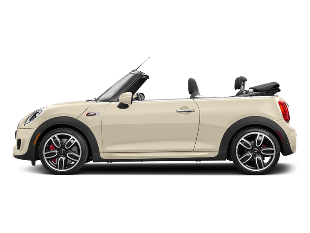 Pepper White 2018 MINI Convertible Pictures Convertible Convertible 2D JCW I4 Turbo photos side view