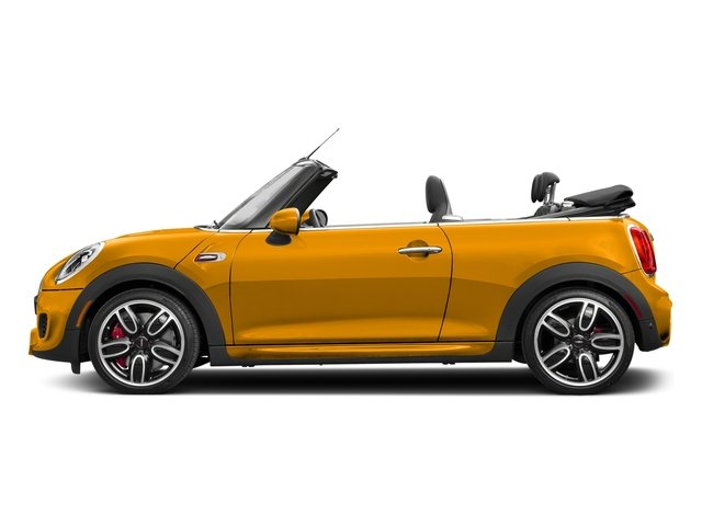 Volcanic Orange 2018 MINI Convertible Pictures Convertible Convertible 2D JCW I4 Turbo photos side view