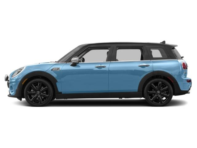 Digital Blue Metallic 2018 MINI Clubman Pictures Clubman Cooper S ALL4 photos side view