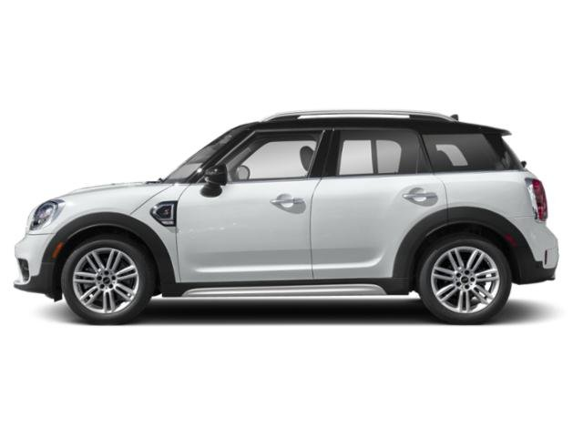 Light White 2018 MINI Countryman Pictures Countryman Wagon 4D Countryman S AWD I4 Turbo photos side view