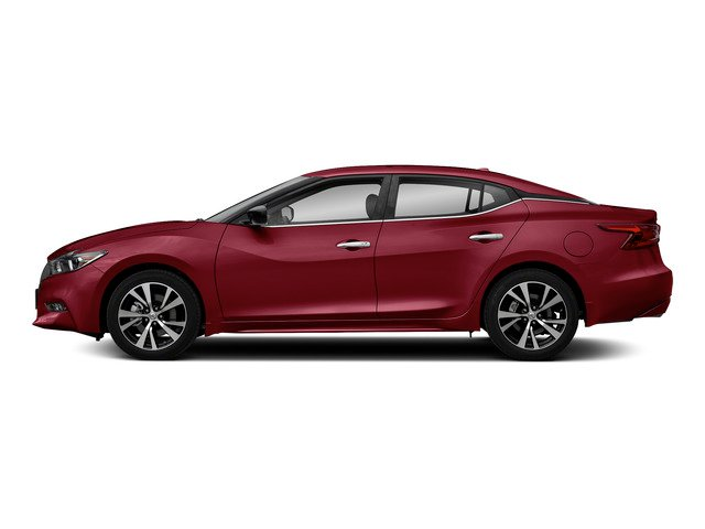 Carnelian Red 2018 Nissan Maxima Pictures Maxima S 3.5L photos side view