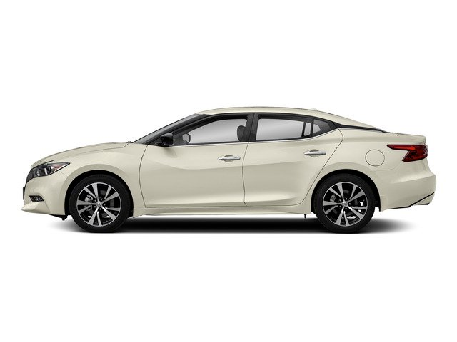Pearl White 2018 Nissan Maxima Pictures Maxima S 3.5L photos side view