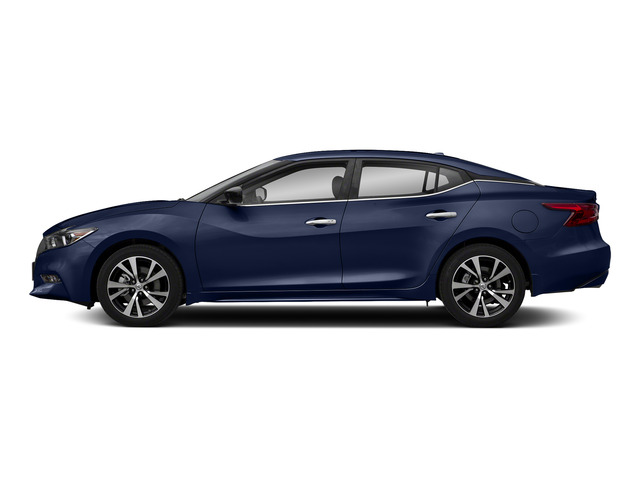Deep Blue Pearl 2018 Nissan Maxima Pictures Maxima S 3.5L photos side view