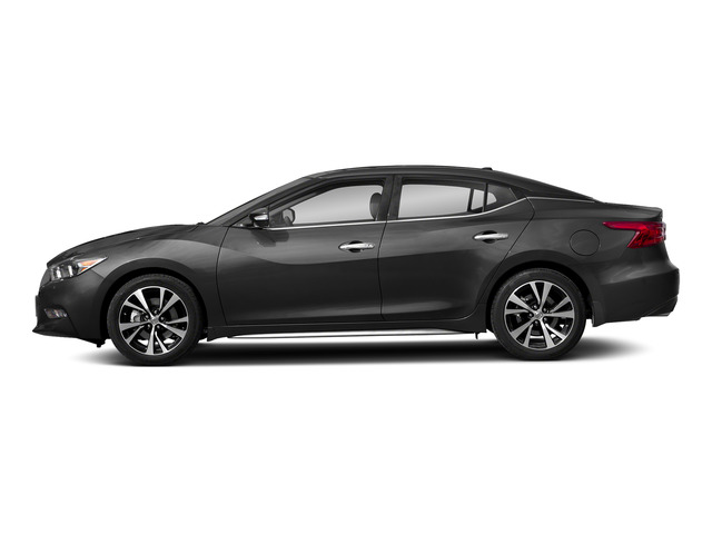 Gun Metallic 2018 Nissan Maxima Pictures Maxima Platinum 3.5L photos side view