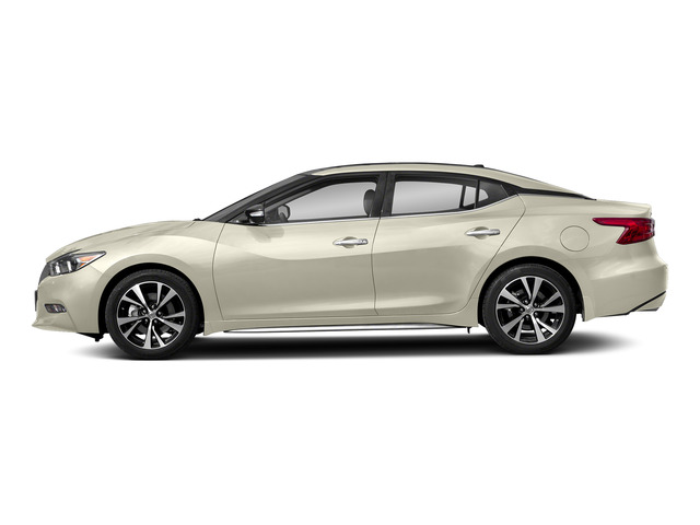 Pearl White 2018 Nissan Maxima Pictures Maxima Platinum 3.5L photos side view