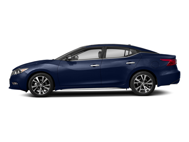 Deep Blue Pearl 2018 Nissan Maxima Pictures Maxima Platinum 3.5L photos side view