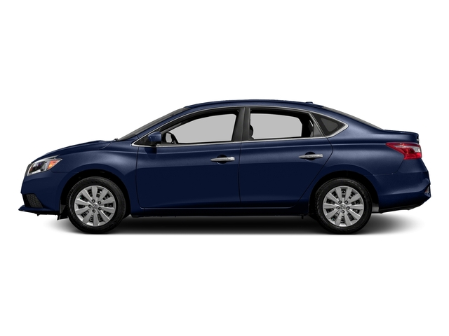 Deep Blue Pearl 2018 Nissan Sentra Pictures Sentra S CVT photos side view