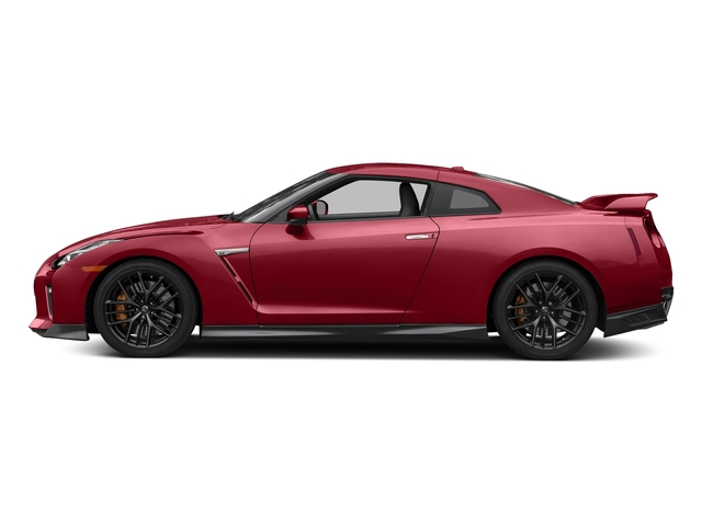Solid Red 2018 Nissan GT-R Pictures GT-R Track Edition AWD photos side view