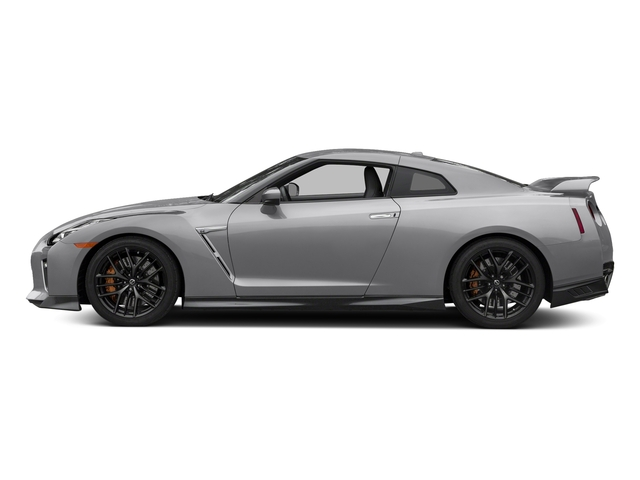 Super Silver Metallic 2018 Nissan GT-R Pictures GT-R Track Edition AWD photos side view