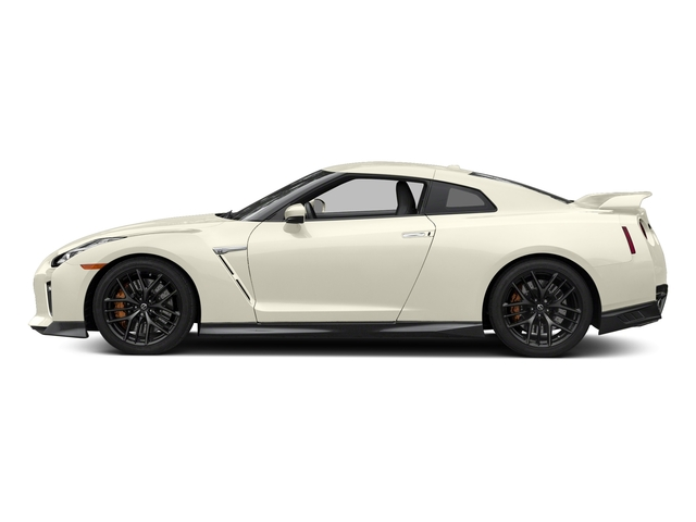 Pearl White 2018 Nissan GT-R Pictures GT-R Track Edition AWD photos side view