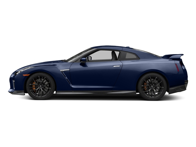 Deep Blue Pearl 2018 Nissan GT-R Pictures GT-R Premium AWD photos side view