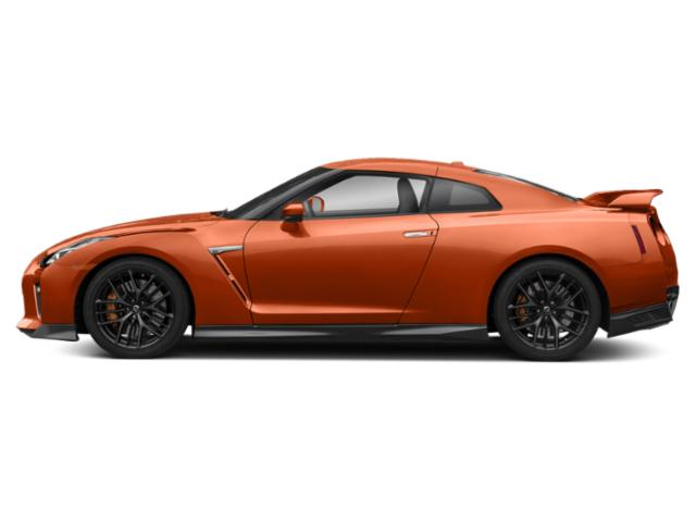 Blaze Metallic 2018 Nissan GT-R Pictures GT-R Coupe 2D Premium AWD V6 Turbo photos side view