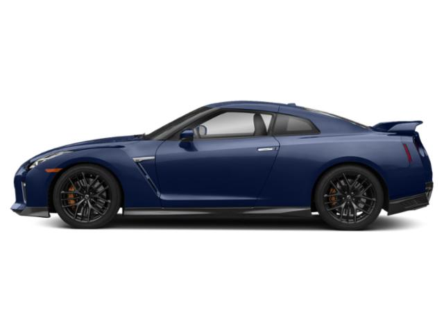 Deep Blue Pearl 2018 Nissan GT-R Pictures GT-R Coupe 2D Premium AWD V6 Turbo photos side view