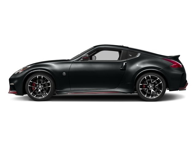 Magnetic Black 2018 Nissan 370Z Coupe Pictures 370Z Coupe NISMO Auto photos side view