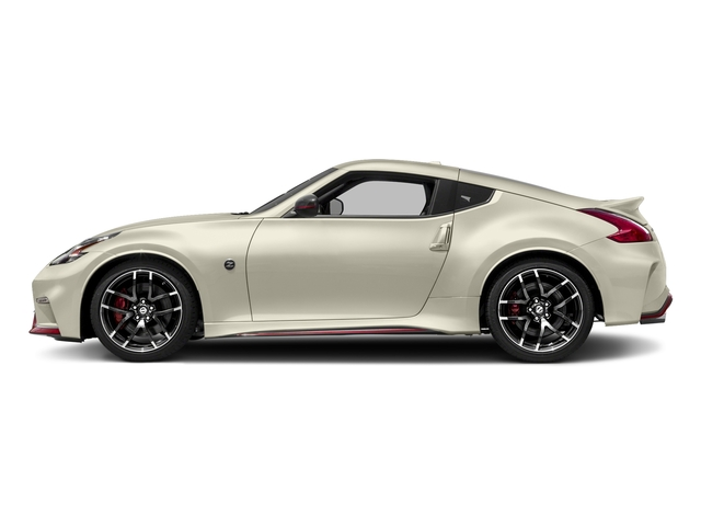 Pearl White 2018 Nissan 370Z Coupe Pictures 370Z Coupe NISMO Auto photos side view