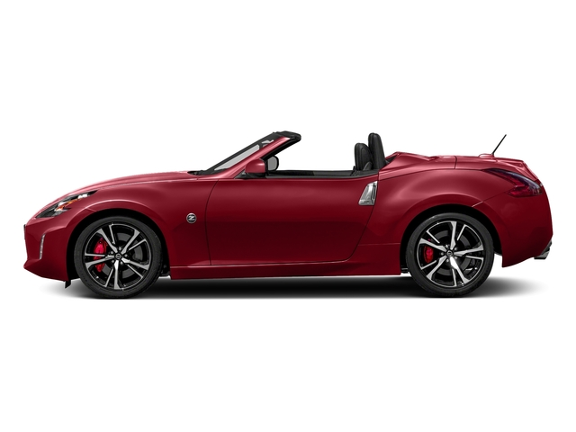 Solid Red 2018 Nissan 370Z Roadster Pictures 370Z Roadster Touring Auto photos side view