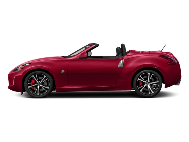 Passion Red 2018 Nissan 370Z Roadster Pictures 370Z Roadster Touring Auto photos side view