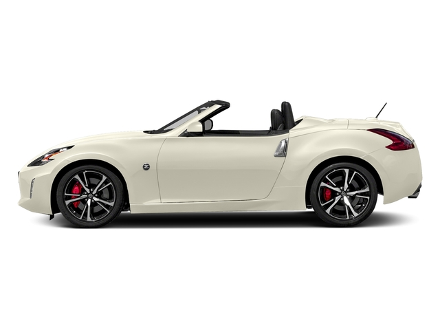 Pearl White 2018 Nissan 370Z Roadster Pictures 370Z Roadster Touring Auto photos side view