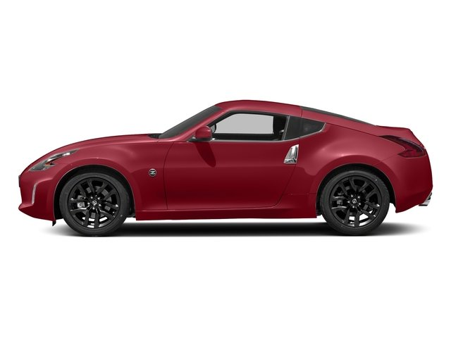 Solid Red 2018 Nissan 370Z Coupe Pictures 370Z Coupe Sport Manual photos side view