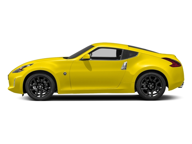 Chicane Yellow 2018 Nissan 370Z Coupe Pictures 370Z Coupe Sport Manual photos side view