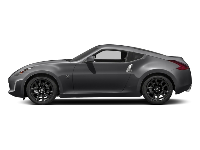 Magnetic Black 2018 Nissan 370Z Coupe Pictures 370Z Coupe Sport Manual photos side view