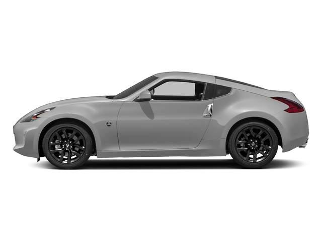 Brilliant Silver 2018 Nissan 370Z Coupe Pictures 370Z Coupe Sport Manual photos side view
