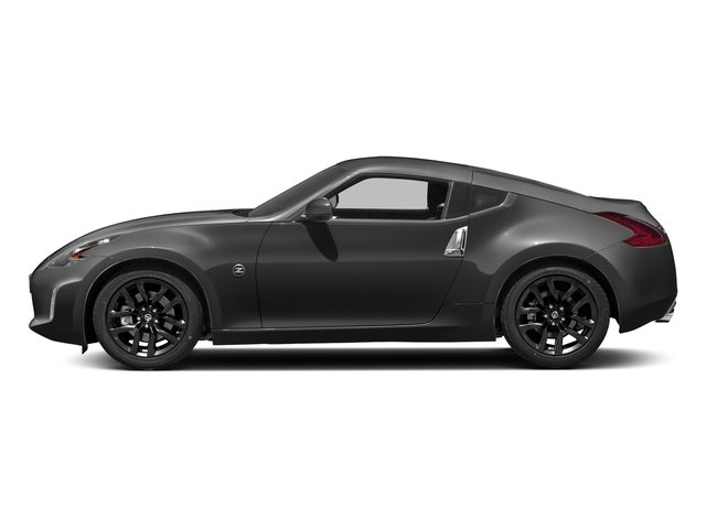 Gun Metallic 2018 Nissan 370Z Coupe Pictures 370Z Coupe Sport Manual photos side view
