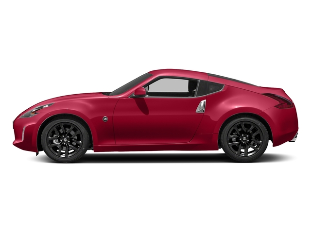 Passion Red 2018 Nissan 370Z Coupe Pictures 370Z Coupe Sport Manual photos side view