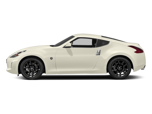 Pearl White 2018 Nissan 370Z Coupe Pictures 370Z Coupe Sport Manual photos side view