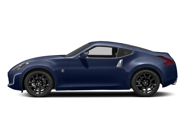 Deep Blue Pearl 2018 Nissan 370Z Coupe Pictures 370Z Coupe Sport Manual photos side view