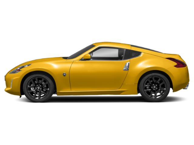 Chicane Yellow 2018 Nissan 370Z Coupe Pictures 370Z Coupe 2D Touring V6 photos side view