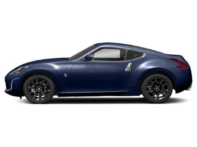 Deep Blue Pearl 2018 Nissan 370Z Coupe Pictures 370Z Coupe 2D Touring V6 photos side view