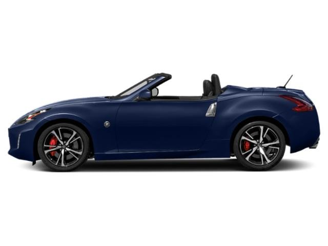 Deep Blue Pearl 2018 Nissan 370Z Roadster Pictures 370Z Roadster Touring Auto photos side view