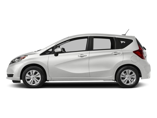 Aspen White 2018 Nissan Versa Note Pictures Versa Note 2018.5 SV CVT photos side view