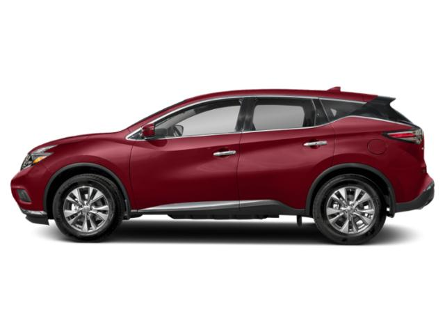 Cayenne Red Metallic 2018 Nissan Murano Pictures Murano AWD SV photos side view