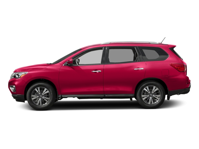 Scarlet Ember 2018 Nissan Pathfinder Pictures Pathfinder 4x4 SL photos side view