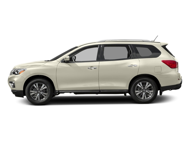 Pearl White 2018 Nissan Pathfinder Pictures Pathfinder 4x4 SL photos side view
