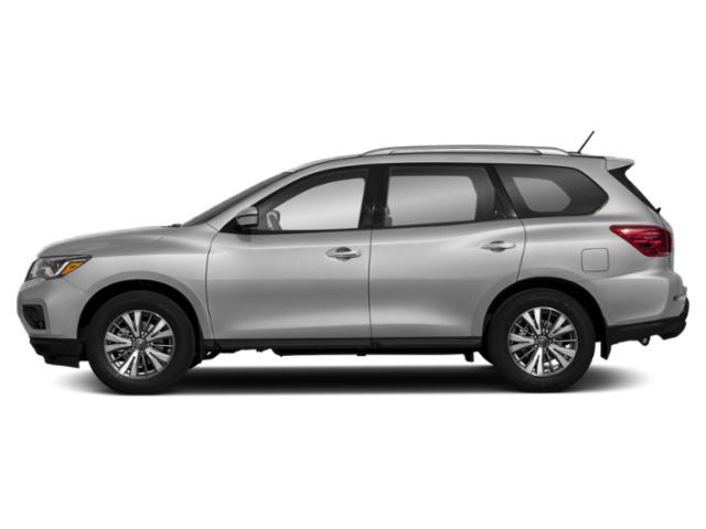 Brilliant Silver 2018 Nissan Pathfinder Pictures Pathfinder 4x4 S photos side view