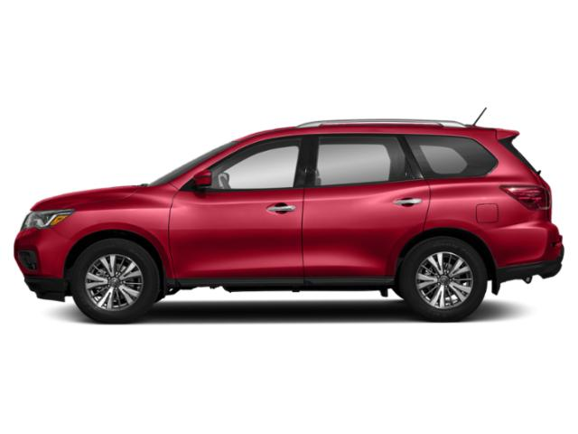 Scarlet Ember 2018 Nissan Pathfinder Pictures Pathfinder 4x4 S photos side view