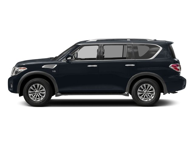 Hermosa Blue 2018 Nissan Armada Pictures Armada 4x4 SV photos side view