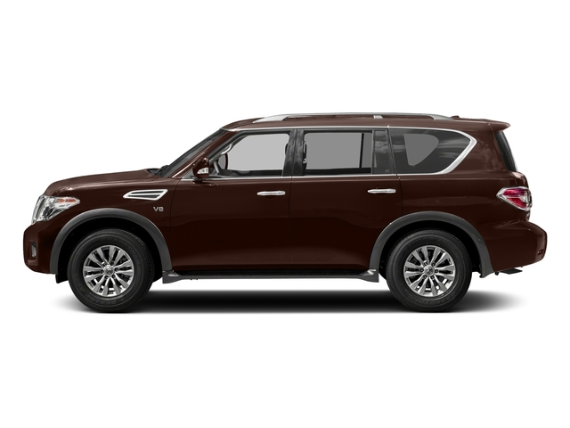 Mocha Almond 2018 Nissan Armada Pictures Armada 4x4 SV photos side view