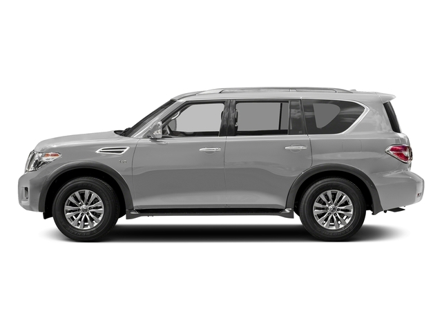 Brilliant Silver 2018 Nissan Armada Pictures Armada 4x4 SV photos side view