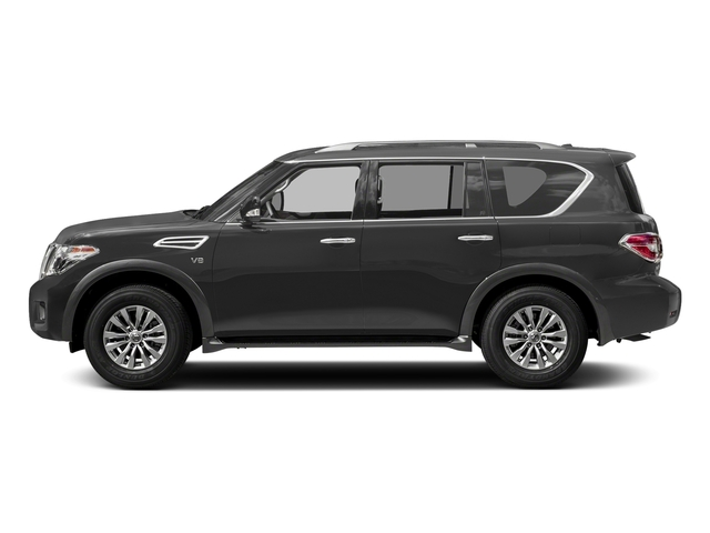 Gun Metallic 2018 Nissan Armada Pictures Armada 4x4 SV photos side view