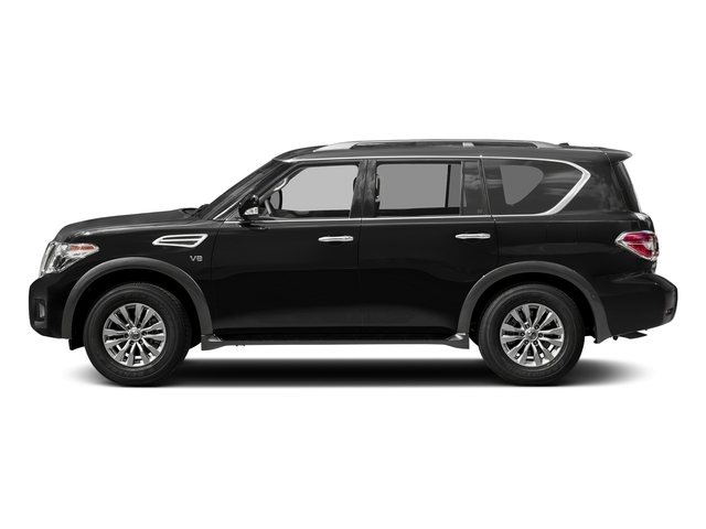 Super Black 2018 Nissan Armada Pictures Armada 4x4 SV photos side view