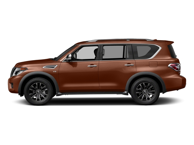 Forged Copper 2018 Nissan Armada Pictures Armada 4x2 Platinum photos side view