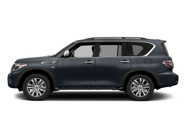 Hermosa Blue 2018 Nissan Armada Pictures Armada 4x2 SL photos side view