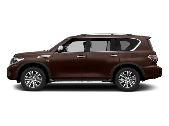 Mocha Almond 2018 Nissan Armada Pictures Armada 4x2 SL photos side view