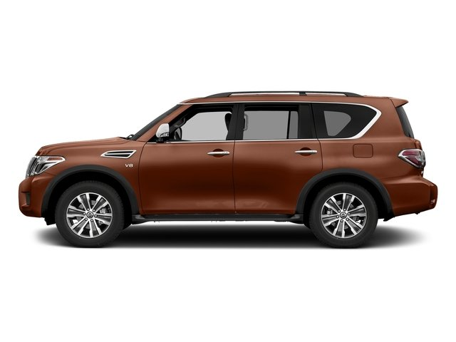 Forged Copper 2018 Nissan Armada Pictures Armada 4x2 SL photos side view